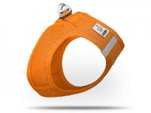 Plush Vest Air-mesh Harness (Orange)